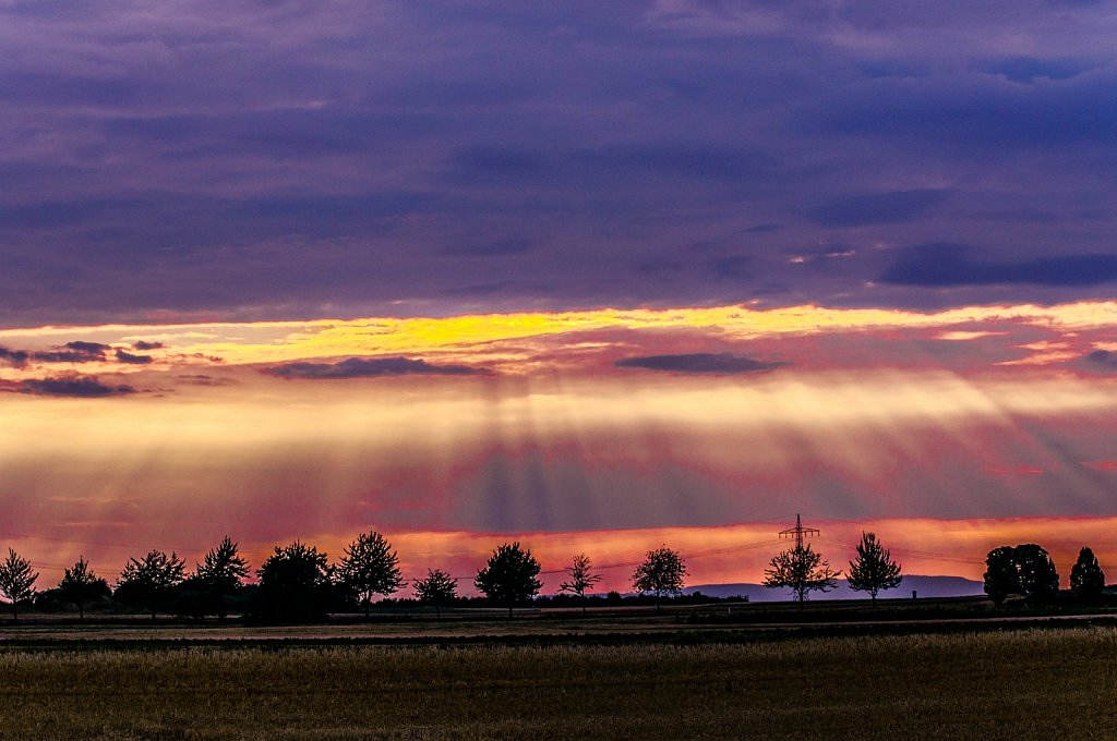 Sonnenaufgang / Sonnenuntergang